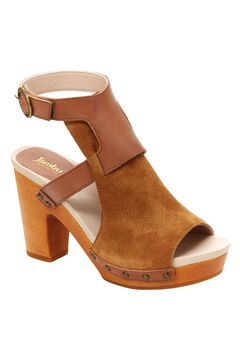 Gina Block Heel Sandals by Jambu®,