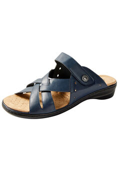 Good Soles Crisscross Slide Sandal,