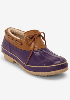 The Storm Waterproof Slip-On by Comfortview®, RICH VIOLET