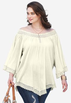 5783f615697 Cheap Plus Size Tunics for Women