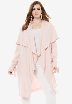 Belted Trench Coat,