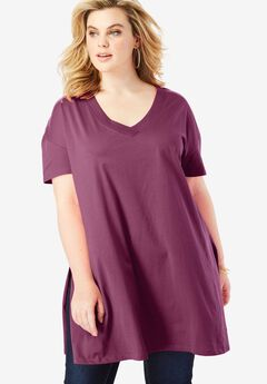 Deep V-Neck Ultimate Tunic,