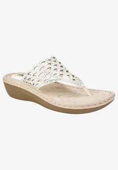 Cameo Sandal by Cliffs by White Mountain,