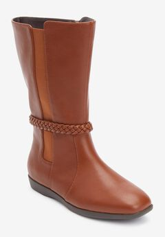 The Nova Wide Calf Boot By Comfortview®,