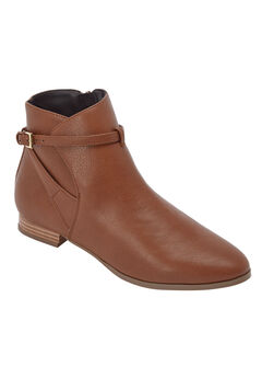 The Alfi Bootie by Comfortview®, COGNAC