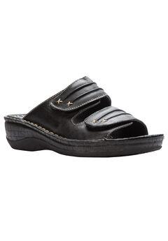 June Sandals by Propet®, BLACK