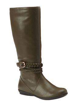 Tate Tall Calf Boots by Comfortview,