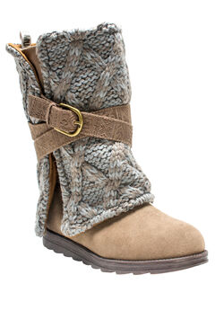 Nikki Belt Wrapped Boot by Muk Luks®,