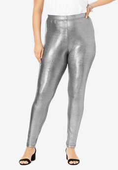 Iridescent-Shine Legging,