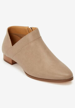 The Alma Bootie by Comfortview®, LIGHT TAUPE