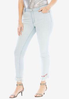Monogram Skinny Fit Jean by Denim 24/7®,