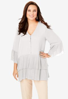 Tiered Tunic, IVORY
