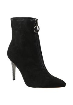 Pinerola Bootie by J. Renee®, BLACK SUEDE