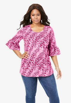Bell-Sleeve Ultimate Tee,