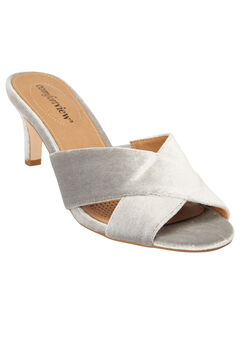 The Geraldine Mule by Comfortview®, SILVER