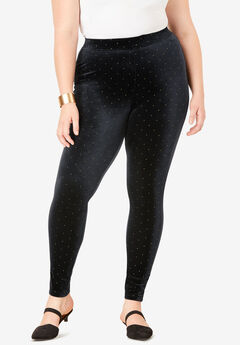 Velour Legging, STUDS