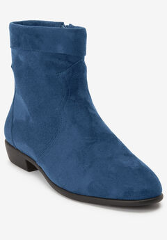 The Noel Bootie by Comfortview®, NAVY