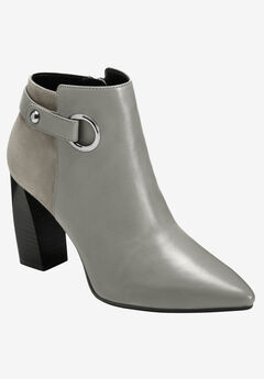 Final Word Bootie by Aerosoles Platinum,
