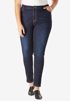 eff8b1a90856 Skinny Jeans with Invisible Stretch® Waistband by Denim 24 7®