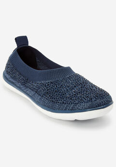 The Nova Sneaker by Comfortview®, NAVY