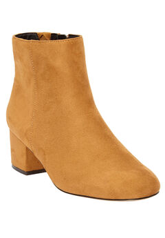 The Sidney Booties by Comfortview®, BROWN MAPLE