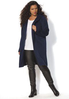Hooded Wool Coat,