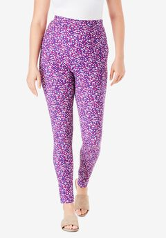 Ankle-Length Essential Stretch Legging,