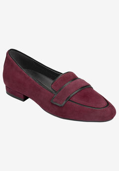 Outer Limit Slip-On by Aerosoles®, WINE SUEDE