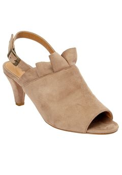 Shira Suede-Like Sandal by Comfortview,