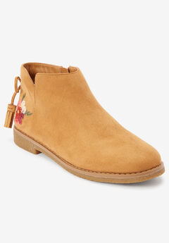 The Sienna Bootie by Comfortview®, TAN