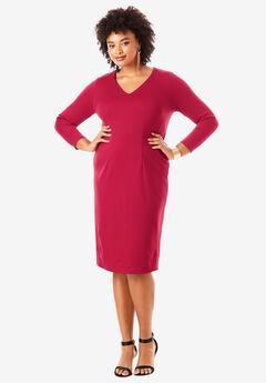 Ultimate Ponte Sheath Dress,