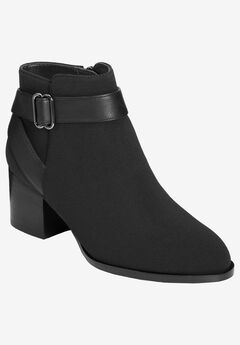 Maggie Bootie by Aerosoles Platinum,