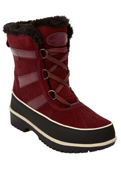 The Brienne Waterproof Boot by Comfortview®, DEEP MERLOT