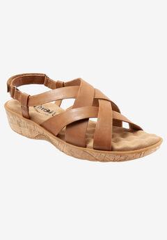 Bonaire Sandal by Softwalk®, SADDLE