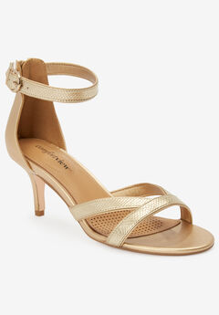 The Iris Sandal by Comfortview®, GOLD