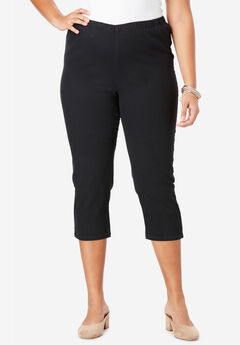 Pull-On Stretch Capri Jean by Denim 24/7®,