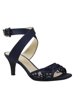 Soncino Sandals by J. Renee®, NAVY
