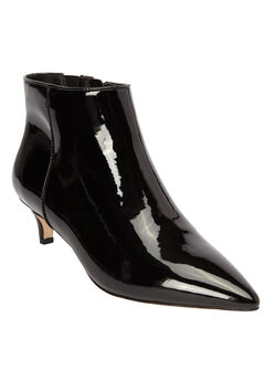 The Meredith Bootie by Comfortview®, BLACK PATENT