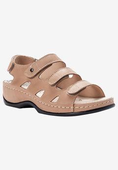 Kara Sandal by Propet®, BISQUE