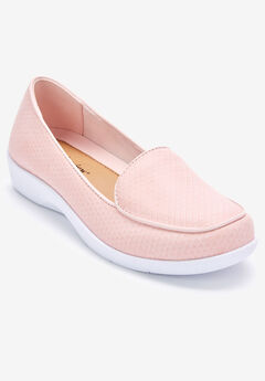 The Jemma Flat by Comfortview®, BLUSH
