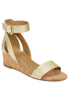 Willowbrook Wedge Sandal by Aerosoles Platinum Label,