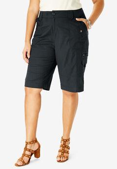 Cargo Shorts, BLACK