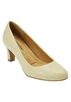 Margot Leather-Like Pump by Comfortview,