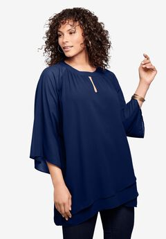 Tiered Keyhole Tunic,