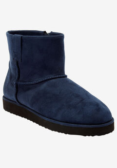 The Sloan Bootie by Comfortview®, NAVY