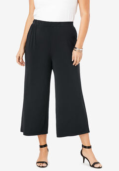 Wide-Leg Crop Pant,