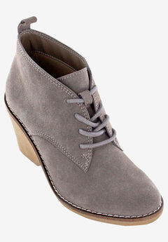 Lambert Bootie by White Mountain, DARK TAUPE SUEDE