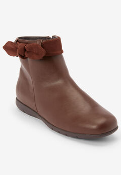 The Aliz Bootie by Comfortview®, BROWN