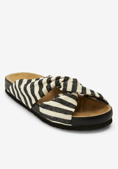 The Reese Footbed Sandal by Comfortview®,