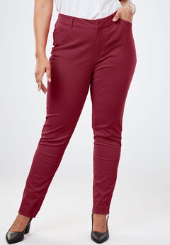 Everywhere Pant, DARK CHERRY